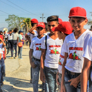 Anniversary of El Maizal Commune: Baseball leagues and youth groups