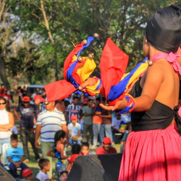 Anniversary of El Maizal Commune: Dance groups