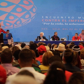 Meanwhile, at the First International Encounter against Imperialism, National Constituent Assembly President Diosdado Cabello addressed the opening ceremony of the event on Wednesday. (AVN)