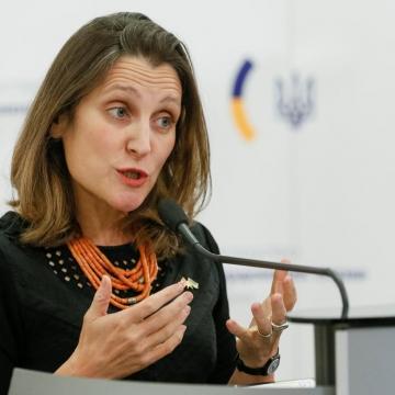 Credit: Reuters, Freeland expulses Venezuelan diplomats from Canada