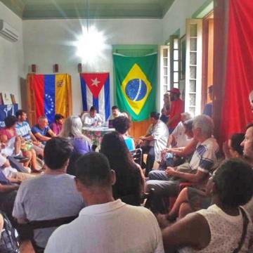 Brazil:  Social Movements of Rio de Janeiro In Solidarity with Cuba and Venezuela