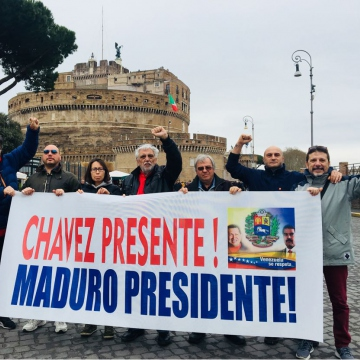 Solidarity With The Bolivarian Revolution In Rome