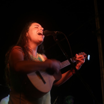 Songwriter Amaranta Perez also took part in the concert (Seguei Alvarado).
