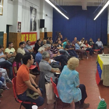 "Meeting in Buenos Aires to say ""We Are All Venezuela!"""