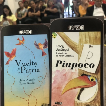 Apart from scores of books being unveiled to the public, for the first time two new e-books were made available to tablet or smart phone users (