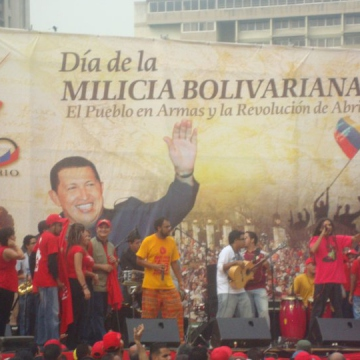 There were also bands, street dancing, and other cultural events here in Caracas and across the country (Willians Muñoz).