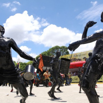 The bicentenary parade in Caracas (ABN).