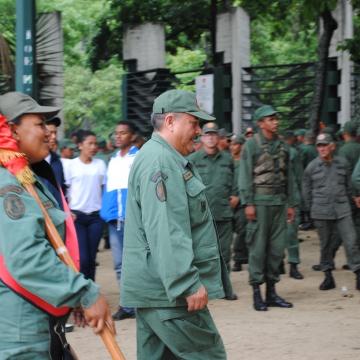 The People's Militia (Rachael Boothroyd/Venezuelanalysis)