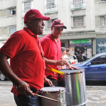 Government supporters took over the city (Rachael Boothroyd/Venezuelanalysis)