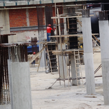 The mission's housing construction in Caracas (AVN)