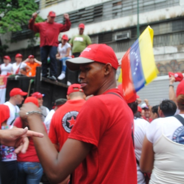 Dancing! (Rachael Boothroyd/Venezuelanalysis.com)