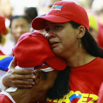 Plaza Bolivar, Caracas (Reuters)