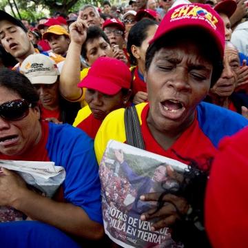 Plaza Bolivar, Caracas (AFP/Getty Images)