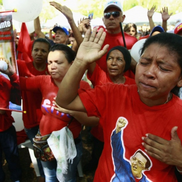 Plaza Bolivar, Maracaibo (Reuters)