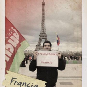 An activist in Paris