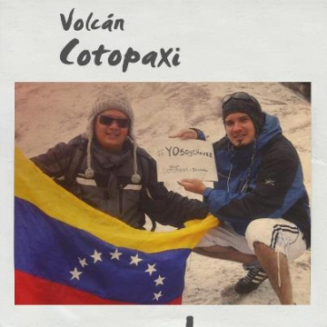From Volcano Cotopaxi, Ecuador