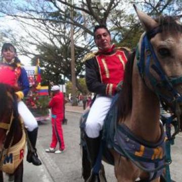 Carnaval parade in Caracas (AVN)