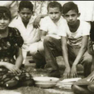 Chavez (centre) with school friends. Born in Sabaneta, Barinas on July 28, 1954, Chavez spent his early years in a small village outside Sabaneta, where his parents encouraged him to study to escape poverty. His mother hoped he would become a priest, though he was more interested in baseball. (Reuters)