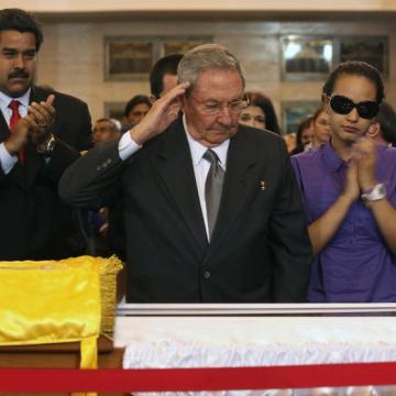 Cuban President Raul Castro. (AP Photo/Miraflores Press Office)