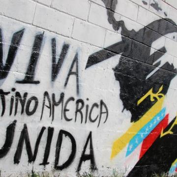 """Long live united Latin America"""