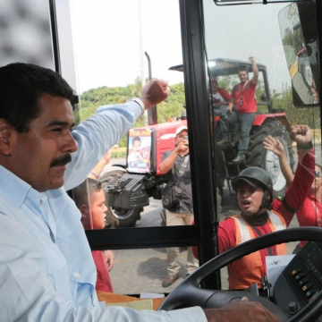 Maduro in Barinas (CdO/Agencies)