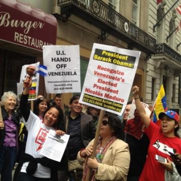 Rally in New York, April 19 (UnidosConVenezuela)
