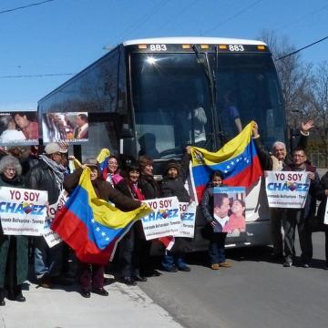 April 9 rally in Ottawa, Canada.(venezuelasolidarity.ca)