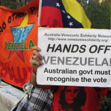 (Australia Venezuela Solidarity Network)
