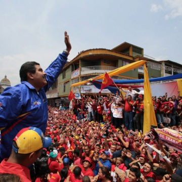 Maduro visiting Tachira (AVN)