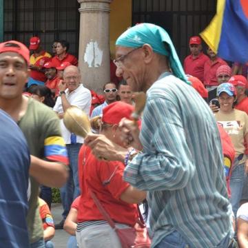 Dancing Chavistas (Jessica Rojas - Noticias24)
