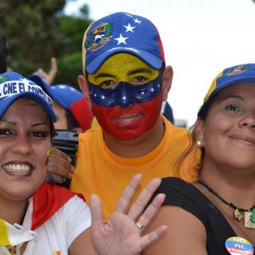 Opposition in Caracas (Noticias 24)