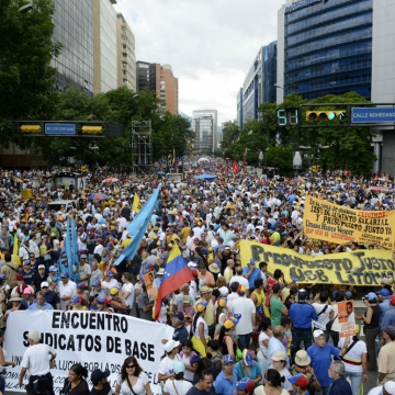 Opposition in Caracas (Leo Ramirez /AFP)