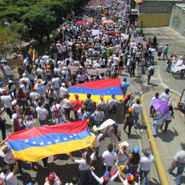 Several thousand participated in the march.