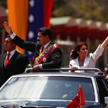 President Nicolas Maduro and First Combatant Cilia Flores. (Prensa Presidencial/AVN)