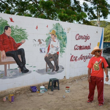 Volunteering in Communal Council Los Angeles, La Trinidad, Apure