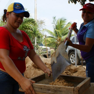 Voluntary work in El Tigre 2030, Píritu, Anzoátegui