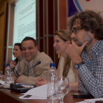 Members of the Venezuelan presidency on the Social PreCOP (PHOTO: Social PreCOP flickr).