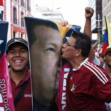 Chavez still moves people in Venezuela (Jonas Holldack - Venezuelanalysis.com)