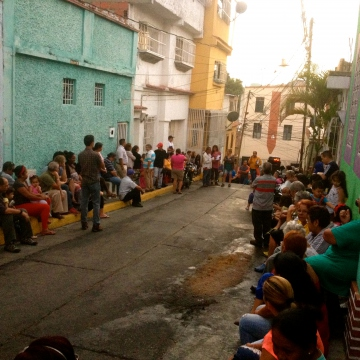 "After forming a preliminary ""electoral committee,"" a community assembly is called in order to ratify the members of the committee and the dates of elections. Lists of the candidates and the election dates are then fly-posted throughout the streets corresponding to the communal council (Rachael Boothroyd Rojas - Venezuelanalysis)"