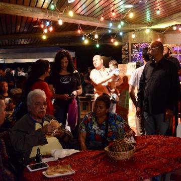 As usual, this year's  Christmas festival at the Theresa Carreño was a family affair. (Rachael Boothroyd Rojas - Venezuelanalysis.com)
