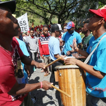 Drum circles are a critical part of Afro-Venezuelan culture and have been strongly identified with Hugo Chavez and the Bolivarian Revolution, which have sought to reclaim the nation's African heritage.