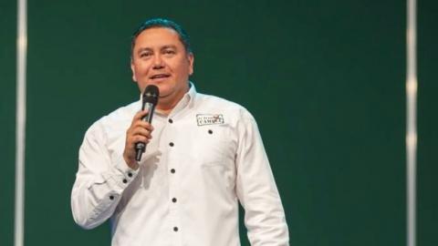 Bertucci is a presidential candidate in venezuela