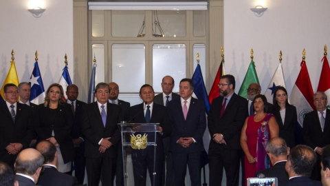 The Lima Group brings together fourteen governments in the hemisphere