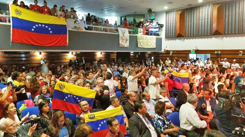 The issue of the imperialist attacks against Venezuela was high on the agenda at the Summit in Peru