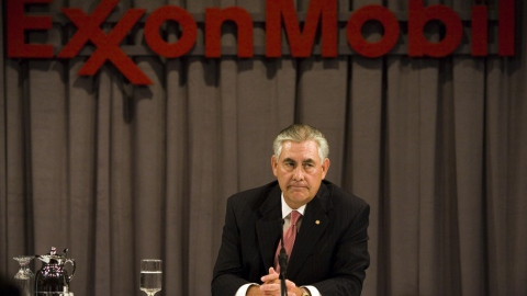 Rex Tillerson As Exxon Mobil Executive