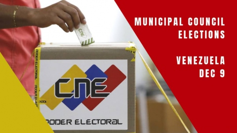 20.7 million Venezuelans are eligible to vote in Sunday's municipal council elections