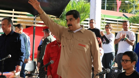 Maduro announced his restructuring plan at an event commemorating the 15th anniversary of the Francisco de Miranda Front
