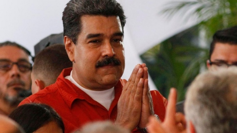 Canada sanctioned Venezuela's president Nicolas Maduro and other high‐ranking Venezuelan officials in November.