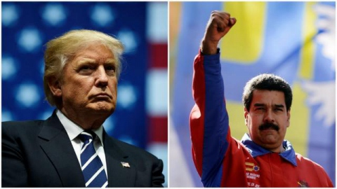 Many Venezuelans are rallying behind incumbent Maduro in opposition to Trump's aggressive sanctions against their country