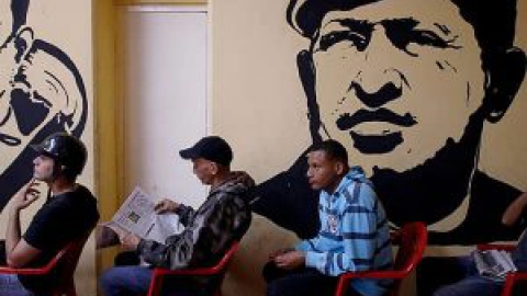 Mural of Hugo Chavez